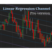 Linear Regression Channel indicator Pro version for NinjaTrader 8