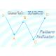 Bearish XABCD 5-point W shape chart pattern indicator for NinjaTrader 8.