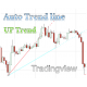 Auto Trendline, Aescending UpTrend indicator with alert for Tradingview