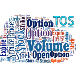 Stock Option data panel indicator for Thinkorswim TOS