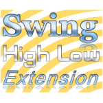 Swing high low extension indicator, scan, screener for MultiCharts  1 Year license.