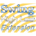 Swing high low extension indicator, scan, screener for MultiCharts  Permanent access license.